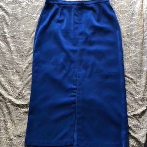 Royal Blue Skirt Suit (Part One of Two)